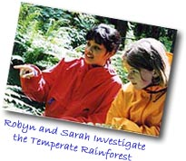 Robyn and Sarah Investigate the Temperate Rainforest